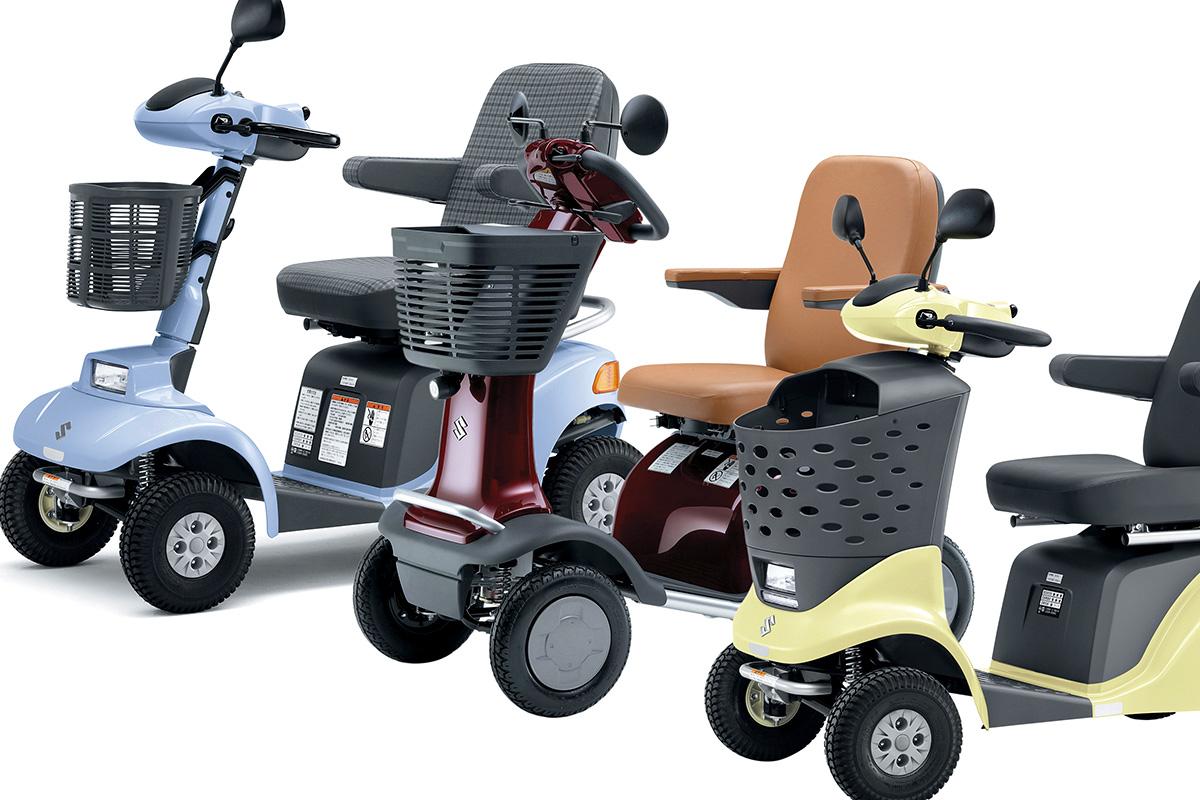 高齢者のハイテクEVはなんと「歩行者」扱い! スズキ「セニアカー」の知られざる世界