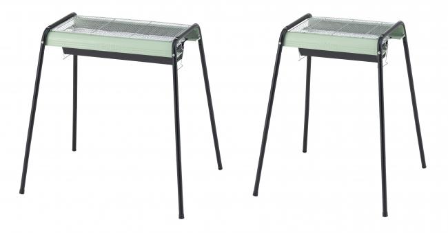 (左)eco-logosave お手入れ簡単モダングリル80L(収納バッグ付) (右)eco-logosave お手入れ簡単モダングリル80M(収納バッグ付)