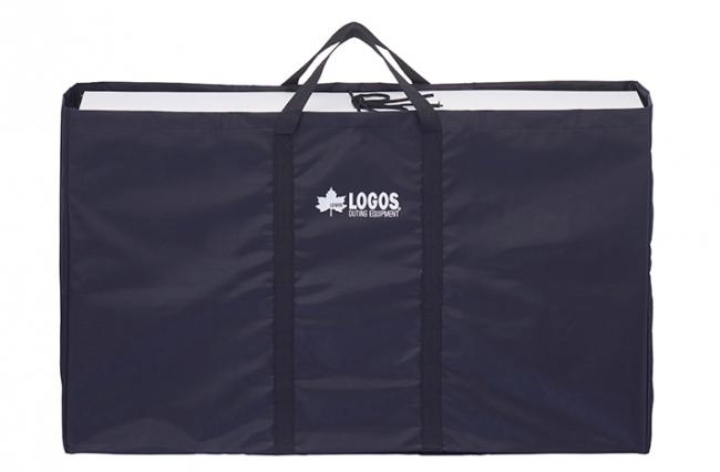 汚れたグリルも箱ごと収まる 持ち運びに便利な収納バッグ付き。