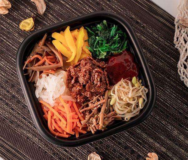 ファミリーマート「大豆のお肉!7種野菜のビビンバ丼」
