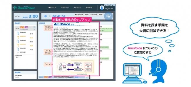 クラウド型コールセンター向けAI音声認識ソリューションAmiVoice Communication Suite Cloud ...