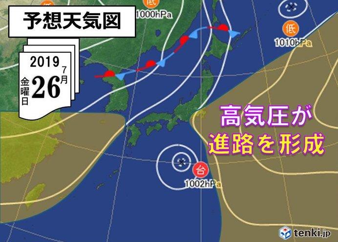 東京 梅雨明け 平均