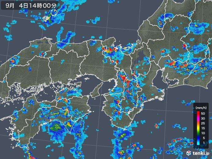 摂津市雨雲レーダー