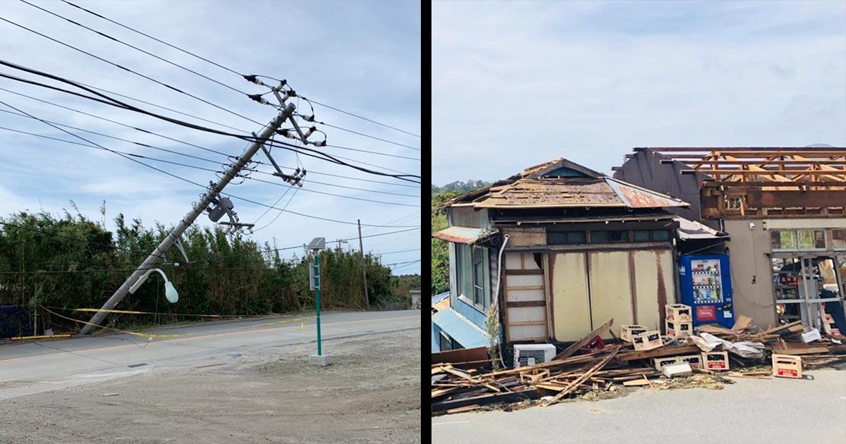台風 被害 状況 15 号