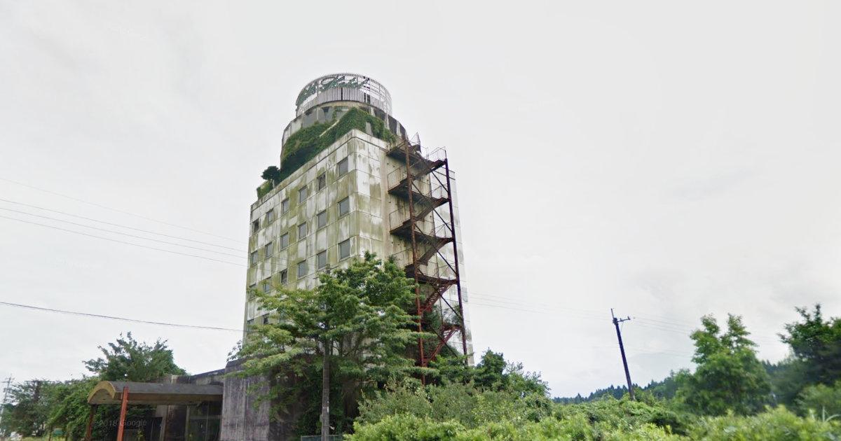 えびの市 廃墟ホテル