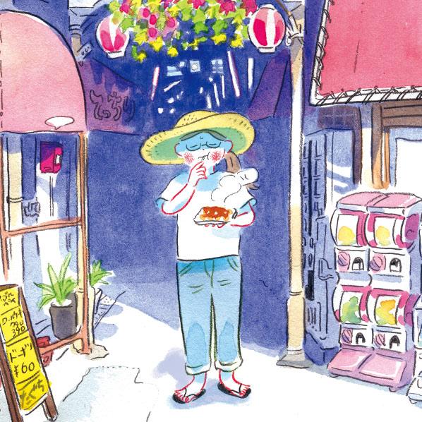 大阪食べある記 くらやみ商店街
