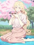 お花見リシュリュー
