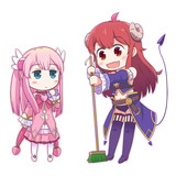 子桃とシャミ子