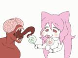 【GIFアニメ】りつとリッカー