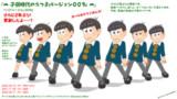 【モデル配布】子供時代の六つ子モデル 通常服Ver(Ver.008f)