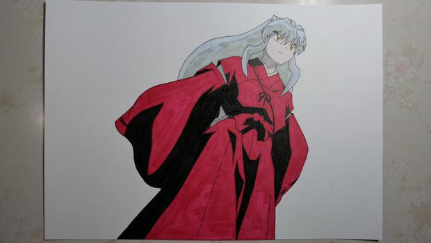 『【半妖の夜叉姫】犬夜叉描いてみた。』のサムネイル