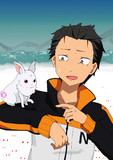 ウサギとスバル