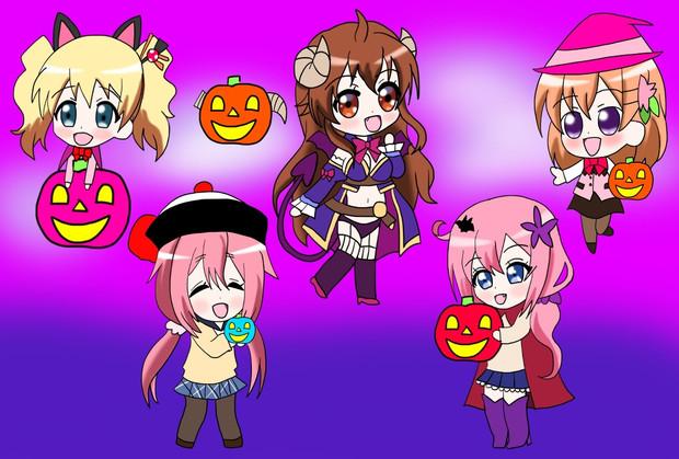 『きららアニメ達のハロウィンパーティー』のサムネイル