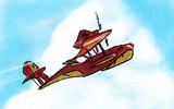アドリア海の飛行艇乗り