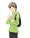 遊馬崎ウォーカーさん+猫
