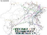 神奈川県鉄道路線図
