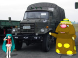航空自衛隊の古いトラック