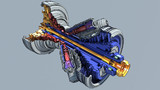 ターボシャフトエンジン用ガスタービン