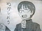 アニメ「日常」 笹原幸治郎の名言「ぬかしおる。」