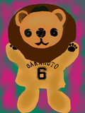 巨人の坂本勇人選手のパペット描いてみた。