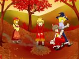 秋の風物詩(妖怪の山にて)