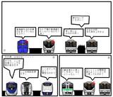 関西空港駅の日常