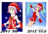 2011年と2012年の比較絵