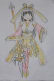 日本神話風の魔法少女