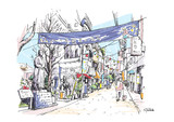 立会川駅前商店街(東京都品川区)