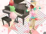 ヴァイオリンとピアノ