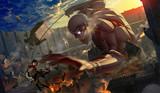 進撃の鎧巨人 VS ミカサ