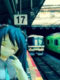 天王寺駅十七番ホーム