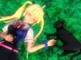 【MMD】ネコと一緒に・・・【グリザイアの果実・松嶋みちる】
