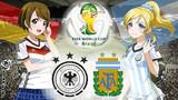 FIFAワールドカップ2014ブラジル 決勝カード