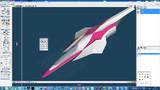 koala_p式純光速戦闘機タイレルI CAT