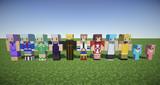 【Minecraft】メンタルモデルスキンセット【蒼き鋼のアルペジオ】