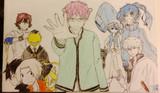 マンガとアニメキャラクター