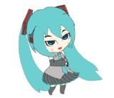 踊る初音ミク GIFアニメーション