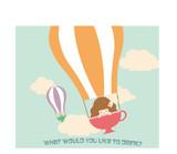 気球にのってどこまでも