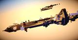 爆撃機vs戦闘機