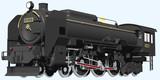 蒸気機関車:C62形