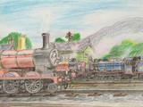 ジェームスとちんまり機関車