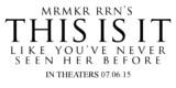 MRMKRRRN'S THIS IS IT