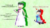 【MMD】チョロ松女神風着せ替えモデルデータ配布【おそ松さん】