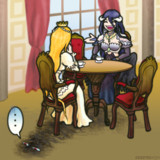 Albedo and the princess