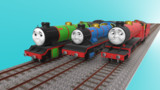 【MMDきかんしゃトーマス】小さな機関車たち