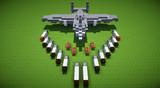 【Minecraft】A-6 スナイプⅡ攻撃機【軍事部】