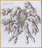 今日の色紙#11「決闘機械デュエル」