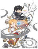 でふぉ版 ☆ SAO Blu-ray Box パッケージ イラスト ※ メディバン ペイント