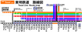 【TrainDriveATS】東埼鉄道路線図【2017年現在】